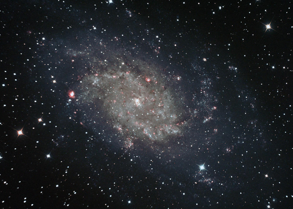 M 33 - Triangulum Galaxie